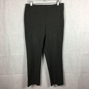 Talbots Gray Classic Side Zip Pants Trousers 12P